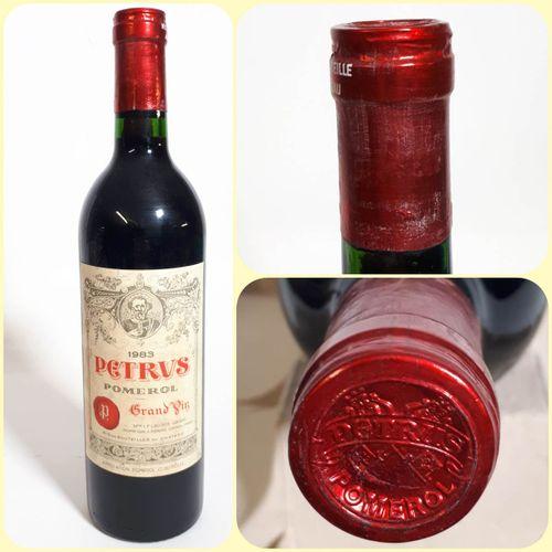 1 B PETRUS (Bons N. Efs, cla) Pomerol 1983