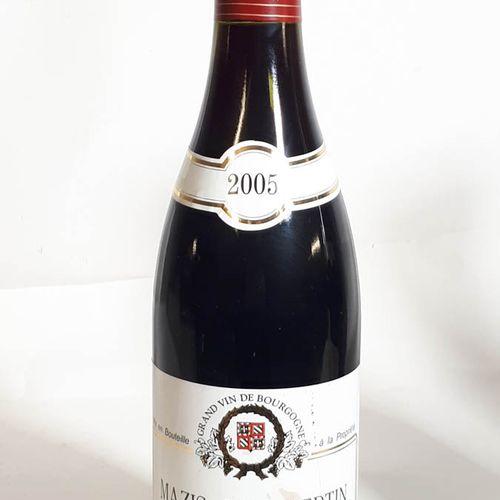 1 B MAZIS CHAMBERTIN GRAND CRU (els) Armand Geoffroy 2005