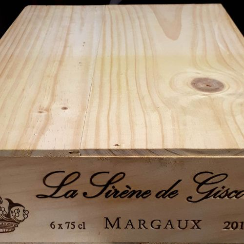 6 B SIRENE DE GISCOURS, CBO (N.I) Margaux 2013