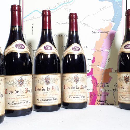 6 B CLOS DE LA ROCHE Grand Cru (*) C.CHARTON FILS 2006