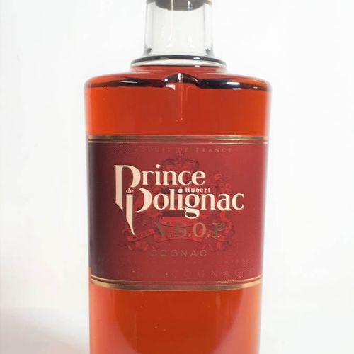 1 B PRINCE HUBERT DE POLIGNAC, Fine Cognac. Cognac V.S.O.P