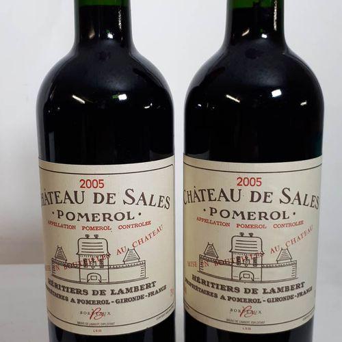 2 B CHÂTEAU DE SALES (*) Pomerol 2005