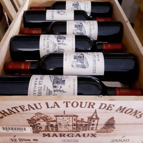 12 B CHÂTEAU LA TOUR DE MONS CBO (*) Margaux 2008