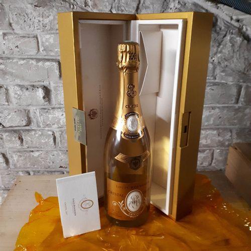 1 B CRISTAL de Roederer, coffret (*) Champagne 2007