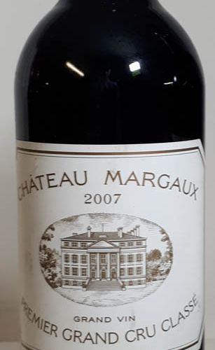 1 B CHÂTEAU MARGAUX (els) Margaux 1er GCC 2007