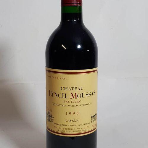 1 B CHÂTEAU LYNCH MOUSSAS (N. Optimum, cla) Pauillac GCC 1996