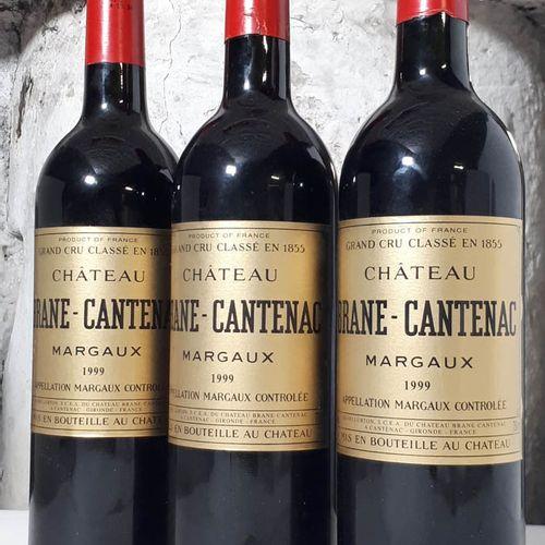 3 B CHÂTEAU BRANE CANTENAC (ctla) Margaux GCC 1999