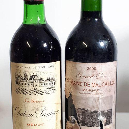 2 B Duo 1B CHt PANIGON (TLB, es; ea, cla) Médoc 1978,  & 1B DOM. De MAUCAILLOU (…