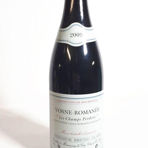"1 B VOSNE ROMANEE ""Les Champs Perdrix"" (*) Bruno Clair 2009"