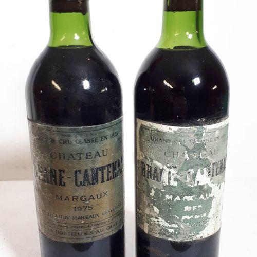 2 B CHÂTEAU BRANE CANTENAC (T.L..B etfs, ea, ca) Margaux GCC 1975