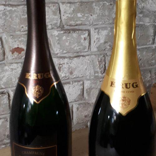 2 B dont KRUG 2003(*) et  KRUG GRANDE CUVEE (*) Champagne 2003