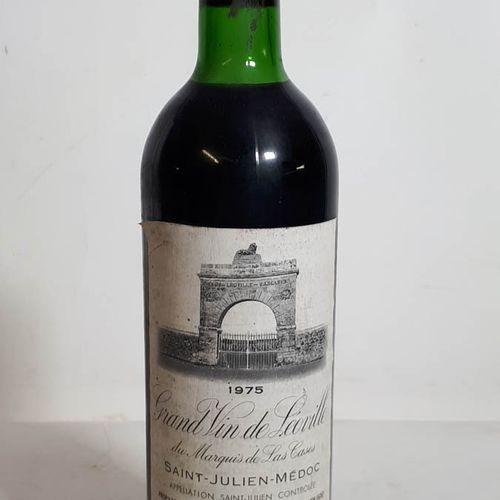 1 B CHÂTEAU LEOVILLE LAS CASES (T.L.B, es, double c. Cla) St Julien GCC 1975