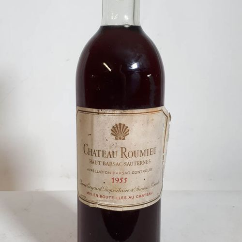 1 B CHÂTEAU ROUMIEU (B.G+, ss liège 50 mm, es, ea, clc) Ht Barsac Saut. 1955