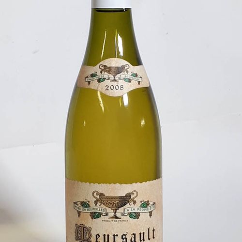 1 B MEURSAULT blanc (*) Coche Dury 2008