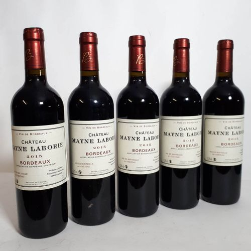 6 B CHÂTEAU MAYNE LABORIE, P. Lherme Bordeaux 2015