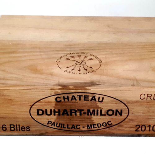 6 B CHATEAUDUHART MILON ROTHSCHILD, CBO cerclée (N.I.) Pauillac GCC 2010