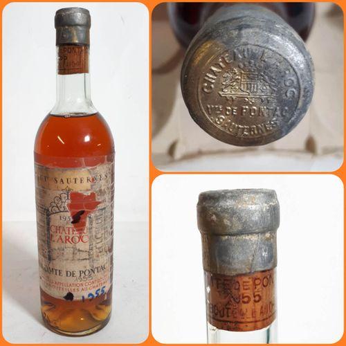 1 B CHÂTEAU L'AROC, VICOMTE DE PONTAC (H.E eta, e. Scotchée, cc) Haut Sauternes …