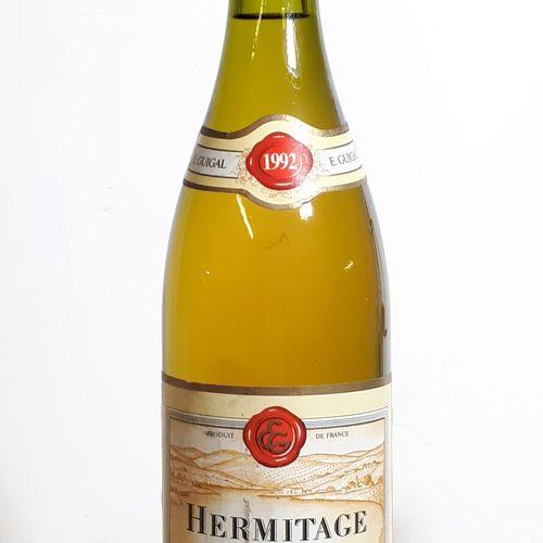 1 B HERMITAGE blanc (els, ela) Dom. Guigal 1992