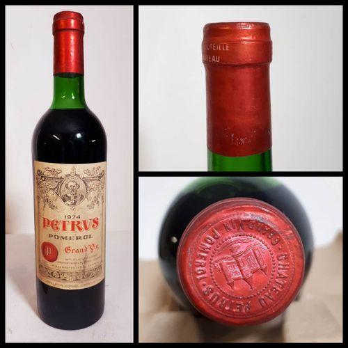 1 B PETRUS (T.L.B, els, ctla) Pomerol 1974