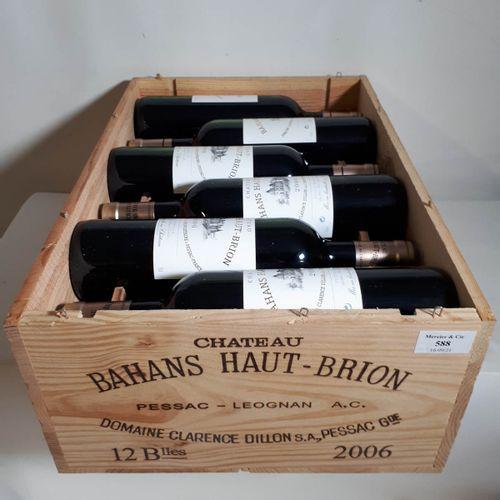 12 B CHÂTEAU BAHANS HT BRION CBO. Pessac Léognan 2006