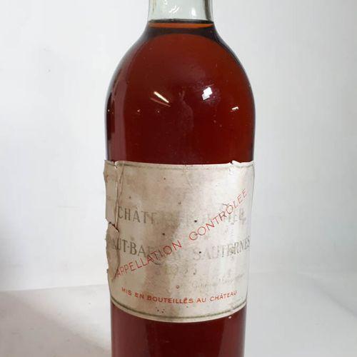 1 B CHÂTEAU ROUMIEU (B.G+, ss liège 50 mm, etfs, ea, cs) Ht Barsac Saut. 1953