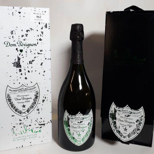 1 B DOM PERIGNON by Michael Riedel, Boite origine (*) Champagne 2006