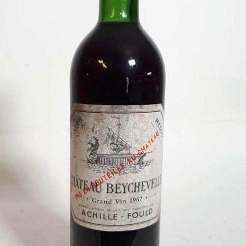 1 B CHÂTEAU BEYCHEVELLE ( B.G, ets, cs) St Julien GCC 1967