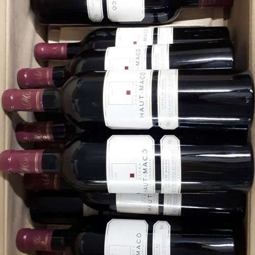 12 B CHÂTEAU HAUT MACO (Bons N. Els, 1cla) Côtes de Bourg 1998