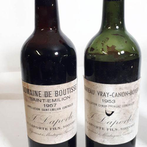 2 B Duo rouge : 1B DOM. DE BOUTISSE (B.E. Efs, cs) E.Laporte.  1B Cht VRAI CANON…