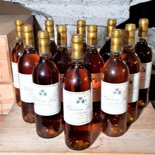 12 B CHÂTEAU LIOT CBO (Bons N., efs, ela ) Sauternes 1997