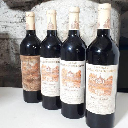 4 B CHÂTEAU LES CARMES Ht BRION (3 es, 1ets) Pessac Léognan 1999