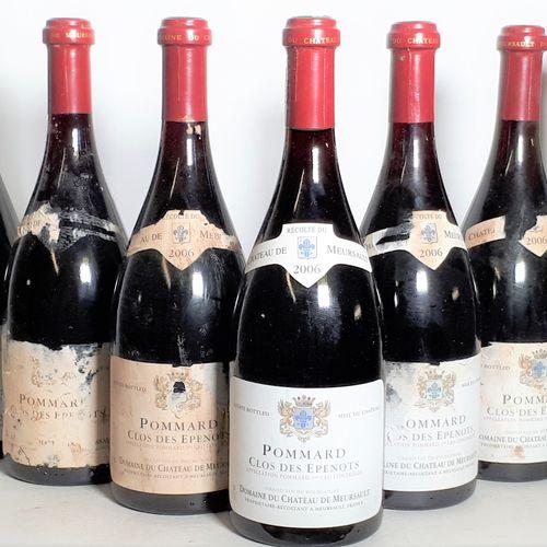 9 B POMMARD CLOS DES EPENOTS (ea, 2scm, 3cls) Chateau meursault 2006