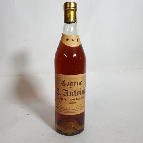 1 B COGNAC D.ANTOINE, *** 40° (*) St Sulpice de Cognac ***