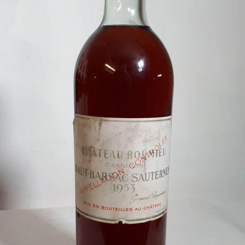 1 B CHÂTEAU ROUMIEU (T.L.B. Ss liège 50mm, etfs, etla, clc) Ht Barsac Saut. 1953