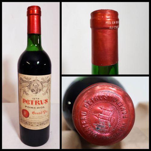 1 B PETRUS (T.L.B, els, ctlc) Pomerol 1974