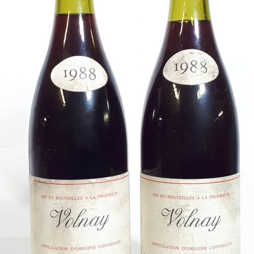 2 B VOLNAY (Bons n., efs) Dom. Voillot 1998