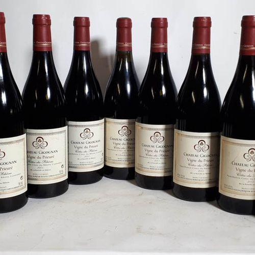 11 B CHÂTEAU GIGOGNAN Vigne du Prieuré (Niv. Optim.Elfs, ctla) Côtes du Rhône 20…