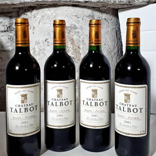 4 B CHÂTEAU TALBOT (etlf, ctla) St Julien GCC 2001