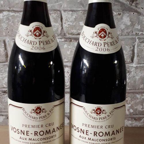 2 B VOSNE ROMANEE 1er CRU LES MALCONSORTS (cltls) BOUCHARD P.&F. 2006