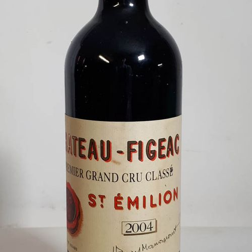 1 B CHÂTEAU FIGEAC (Bon N. Els) St Emilion 1er GCC 2004