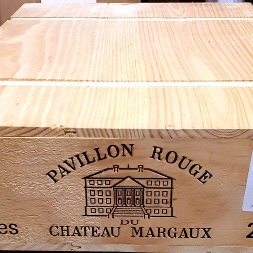 6 B PAVILLON ROUGE de Cht Margaux, CBO (N.I) Margaux 2012
