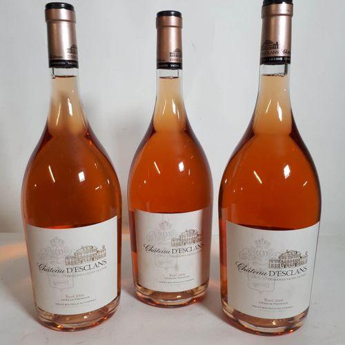 3 Mag CHÂTEAU D'ESCLANS rosé (efs) Côte de Provence 2006