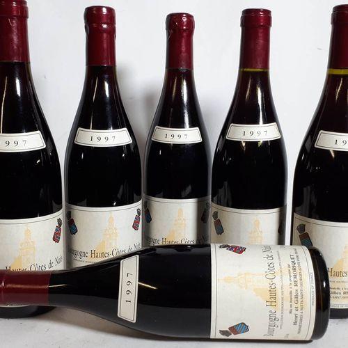 6 B Htes COTE DE NUITS rouge (*) (H. G. Moriquet) 1997