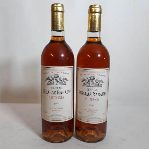 2 B CHÂTEAU SIGALAS RABAUD (*) Sauternes 1er GCC 1997