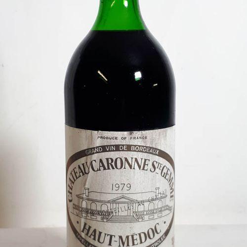 1 Mag CHÂTEAU CARONNE St GEMME (N. 4cm ss liège 55mm, ets, sca) Ht Médoc 1979