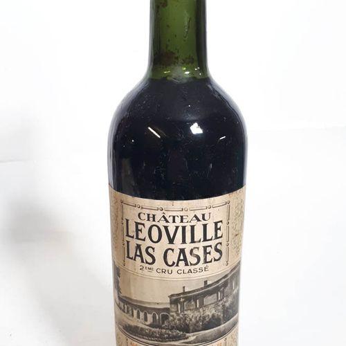 1 B CHÂTEAU LEOVILLE LAS CASES (T.L.B+, ets, cs, non mise du Cht.) Importé Demet…
