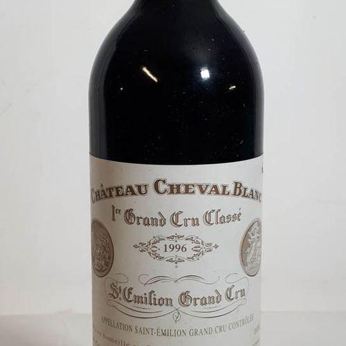 1 B CHÂTEAU CHEVAL BLANC (etla, ctla) St Emilion 1eGCC 1996