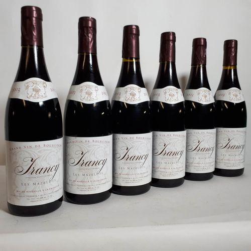 6 B IRANCY Les Mazelots (coiffes frippées) L. Joudelat 2003
