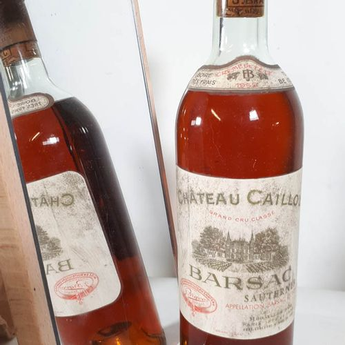 1 B CHÂTEAU CAILLOU Crème de tête (N. 3,7cm, efs, c.Parfaite ) Barsac GCC 1959