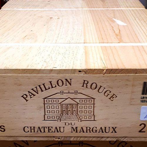 6 B PAVILLON ROUGE de Cht Margaux, CBO (N.I) Margaux 2011